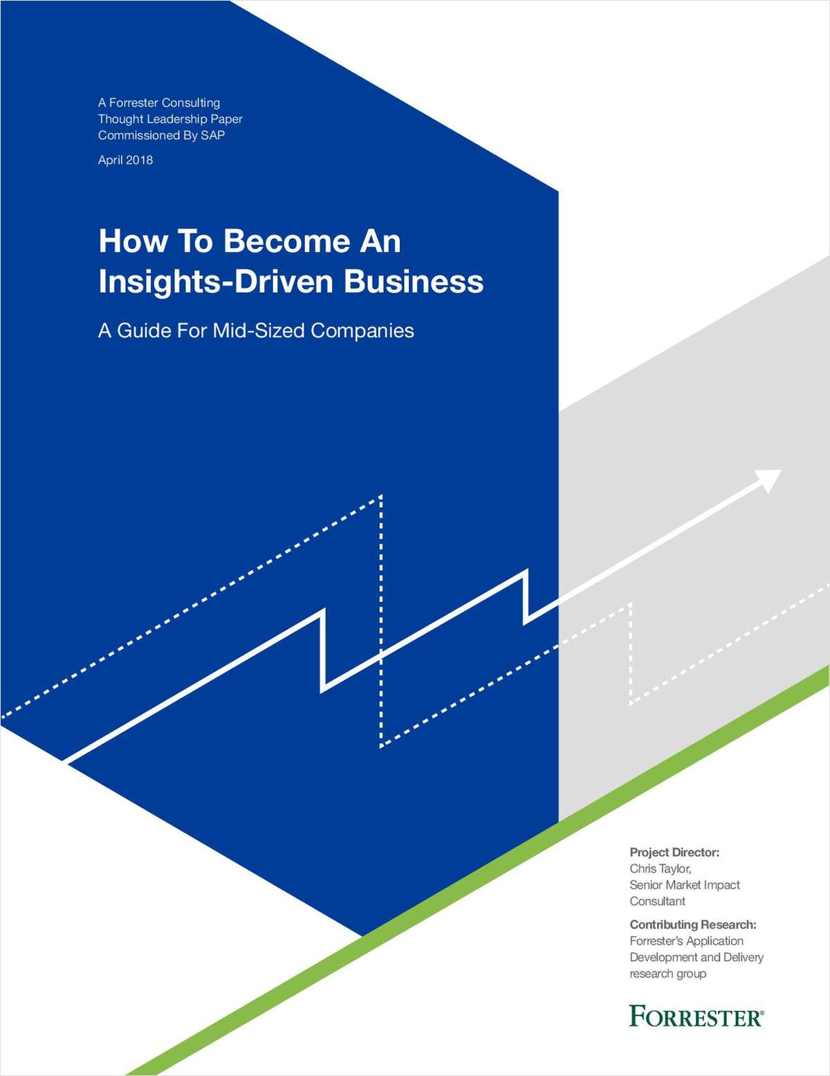 How to Become an Insights-Driven Business: A Guide for Midsized Companies by Forrester