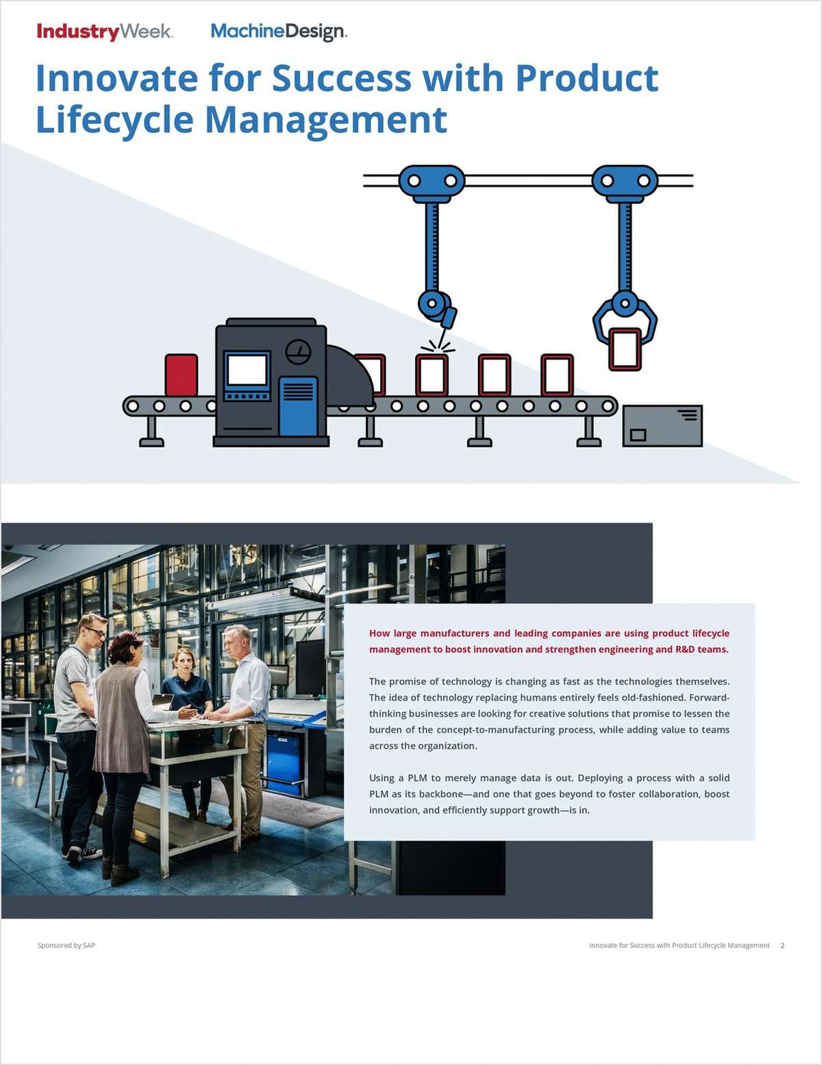 Innovate for Success with Product Lifecycle Management