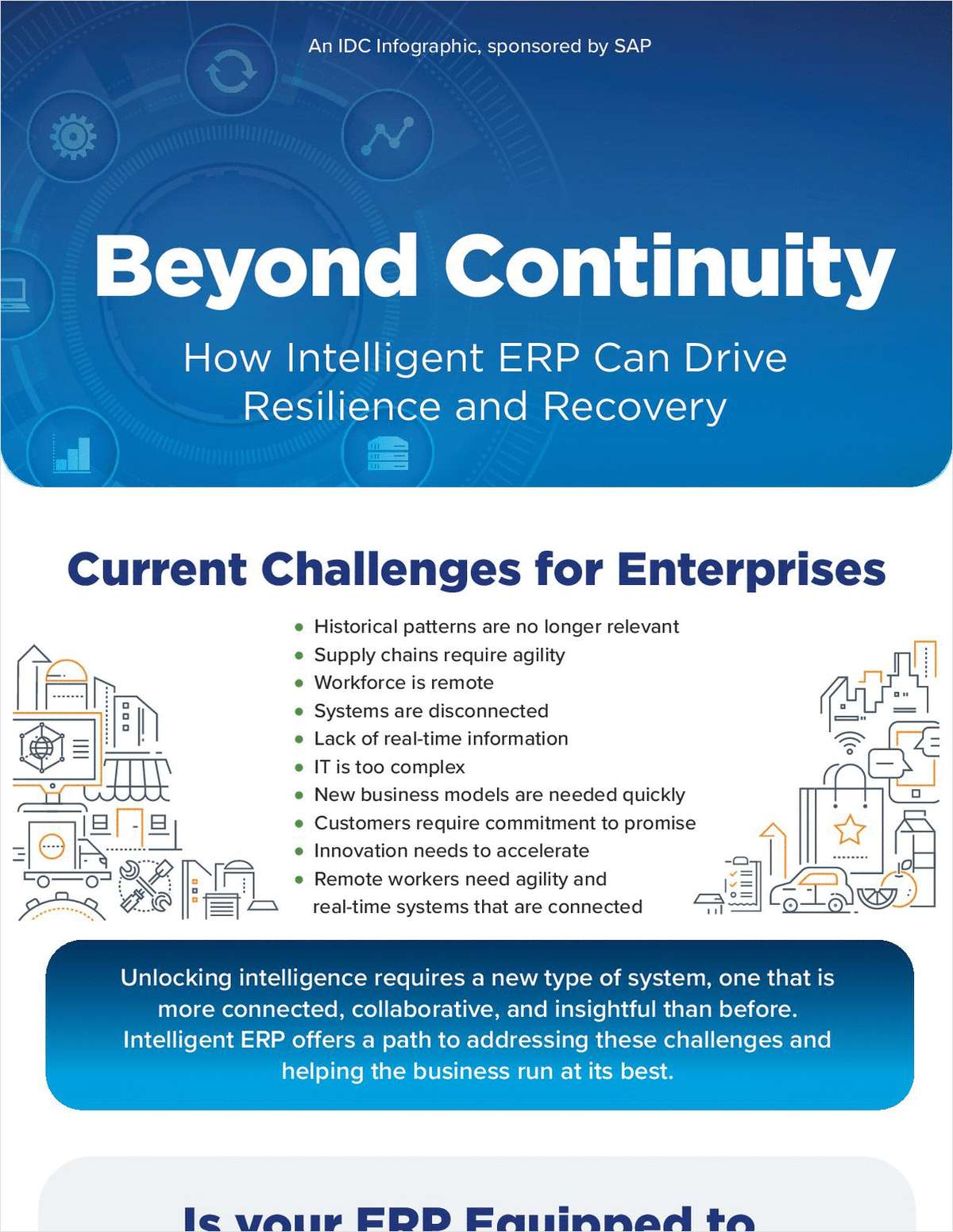 Beyond Continuity - How Intelligent ERP Can Drive Resilience and Recovery