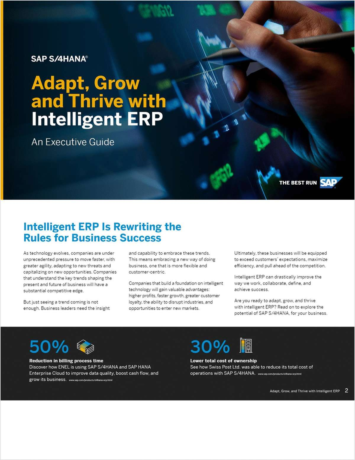 Adapt, Grow and Thrive with Intelligent ERP