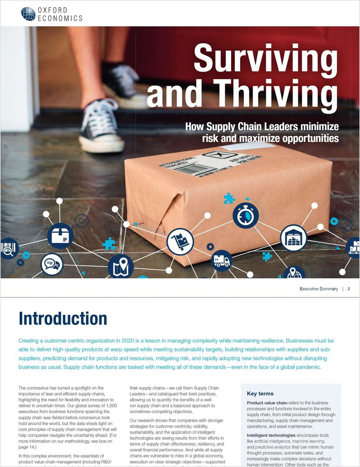 Surviving and Thriving: How Supply Chain leaders minimize risk and maximize opportunities