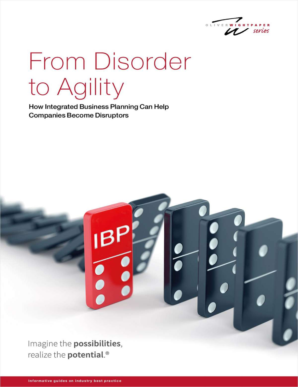 From Disorder to Agility