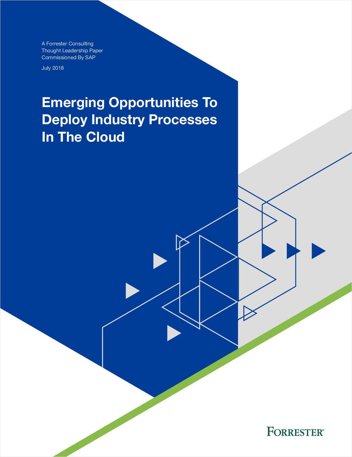 Emerging Opportunities To Deploy Industry Processes In The Cloud