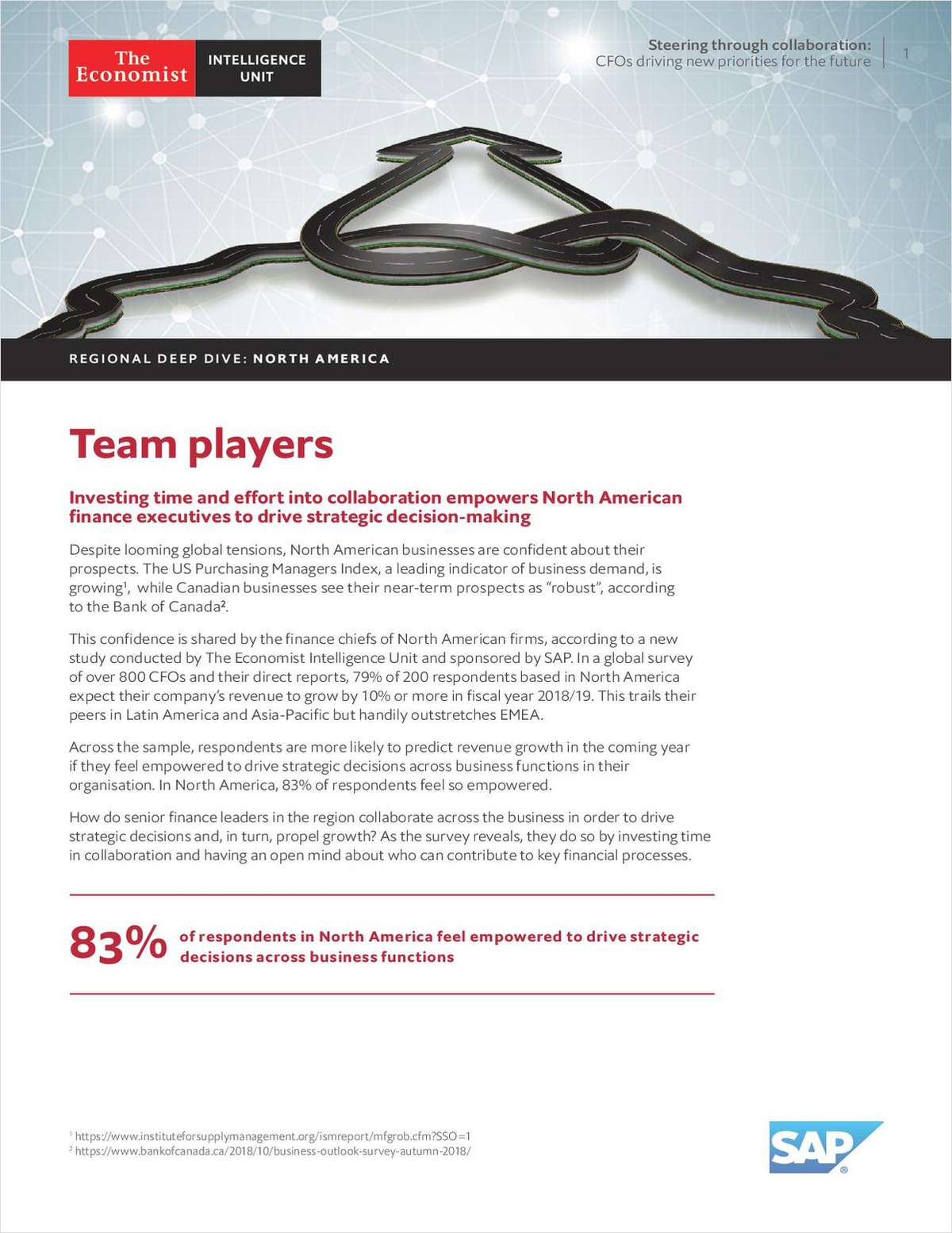 Economist Intelligence Unit: Collaboration is the Key to CFO Success