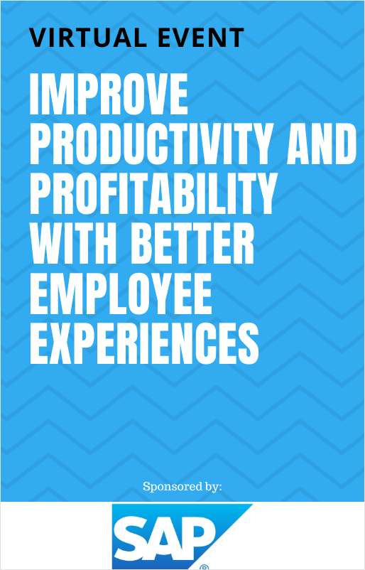 Improve Productivity and Profitability with Better Employee Experiences