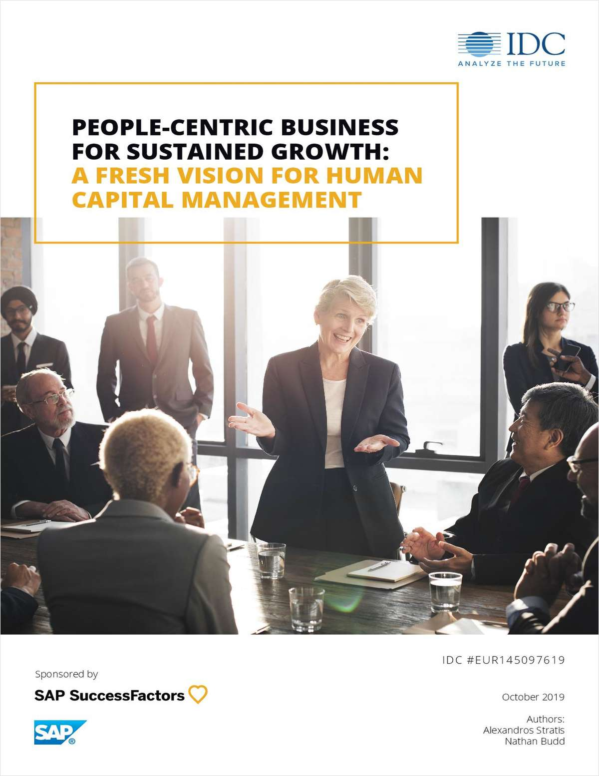A New Vision for Human Capital Management