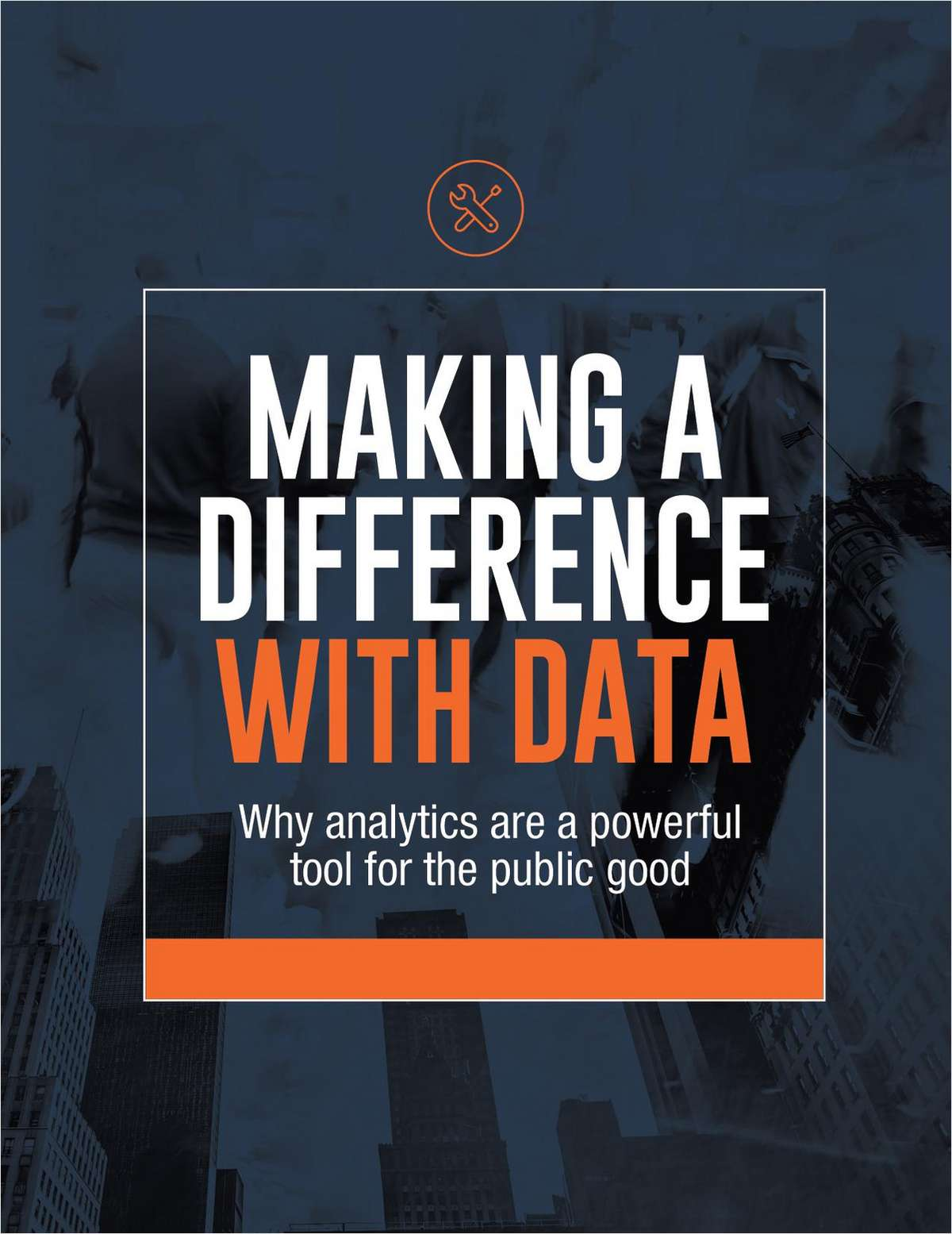 MAKING A DIFFERENCE WITH DATA