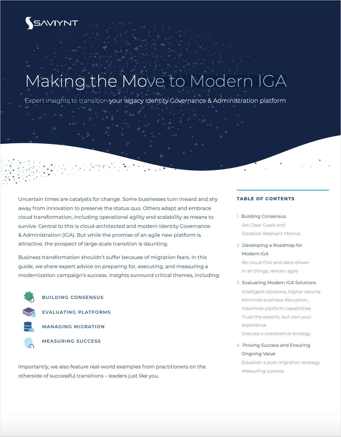 Making the Move to Modern IGA