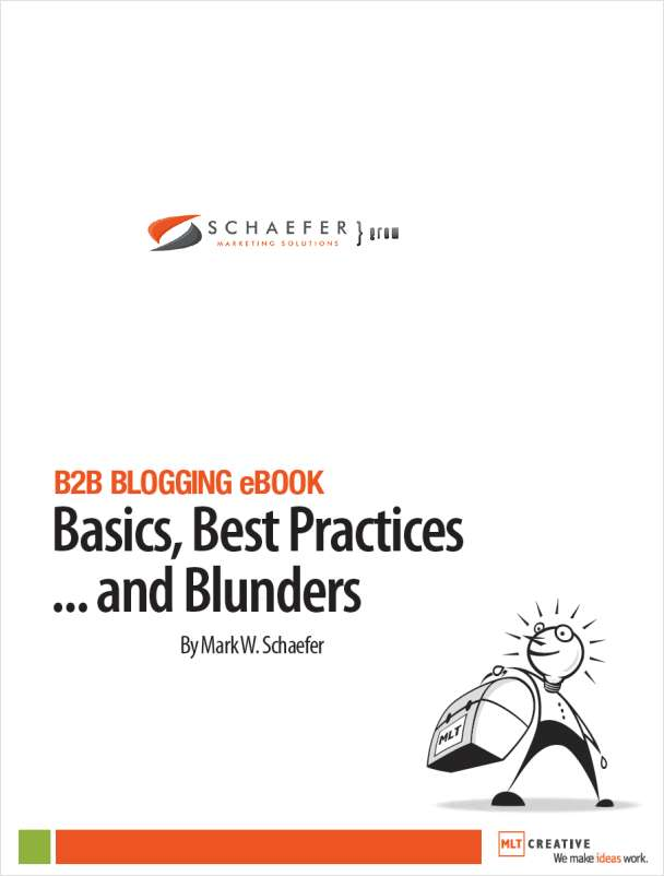B2B Blogging eBook - Basics, Best Practices... and Blunders