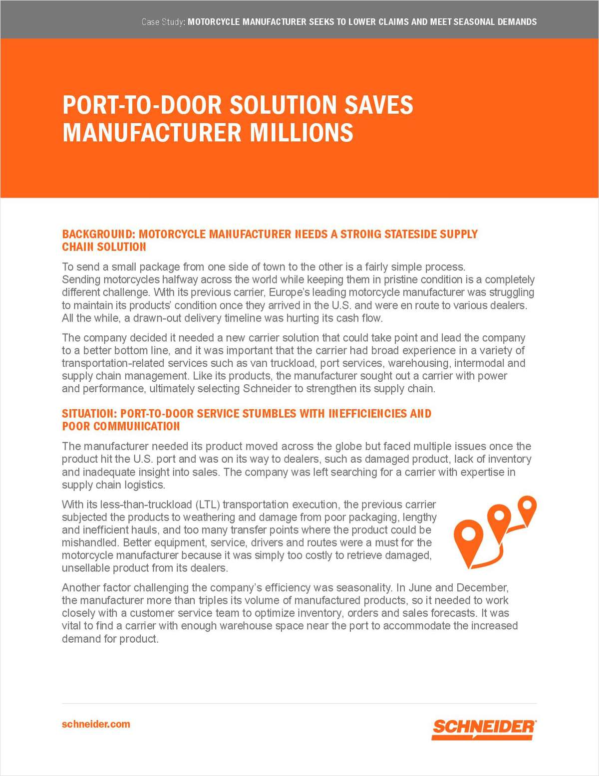 How to Save Millions in Your Supply Chain with a Port-to-Door Solution
