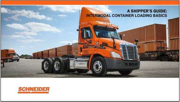 The Essential Guide for Loading a Container for Intermodal Transportation