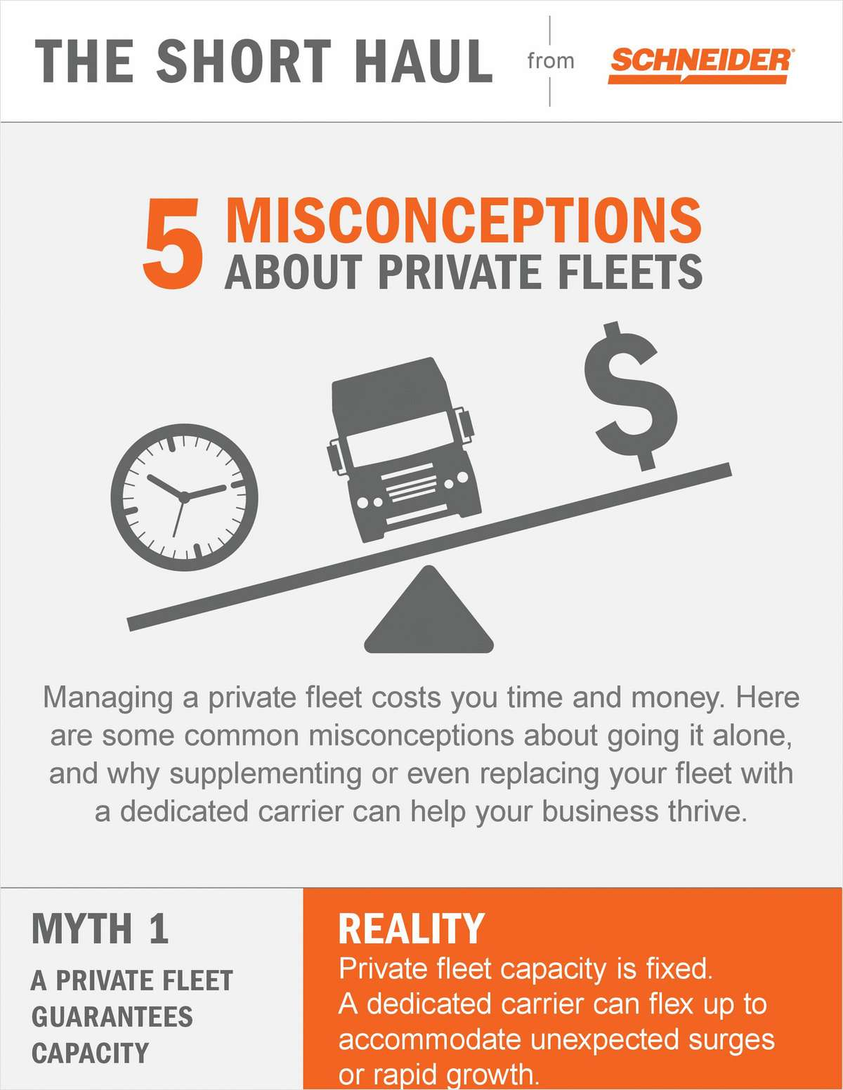 Five Misconceptions About Private Fleets