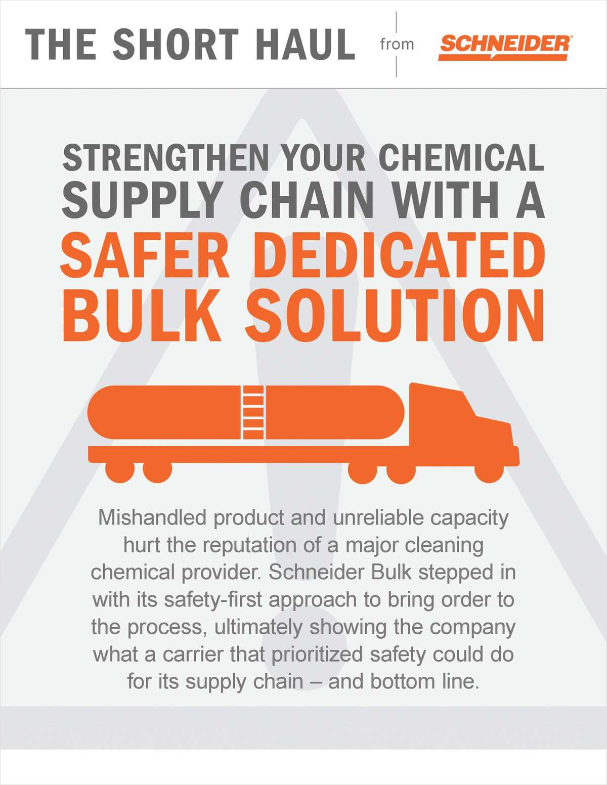 Strengthen Your Chemical Supply Chain With A Safer Dedicated Bulk Solution