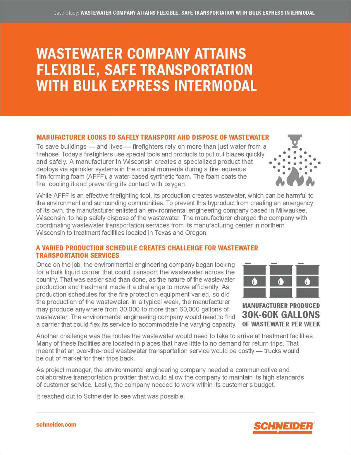Cost-Savings AND Flexible Bulk Liquid Transportation -- How one Engineering Company Finally Received the Flexible, Safe Transportation it Deserved