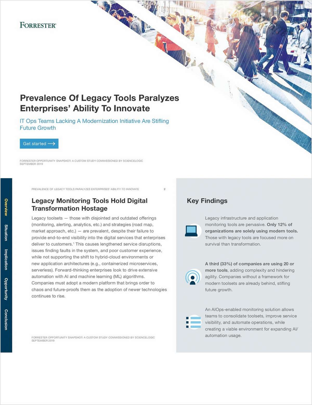 Forrester Report: Prevalance Of Legacy Tools Paralyzes Enterprises' Ability To Innovate