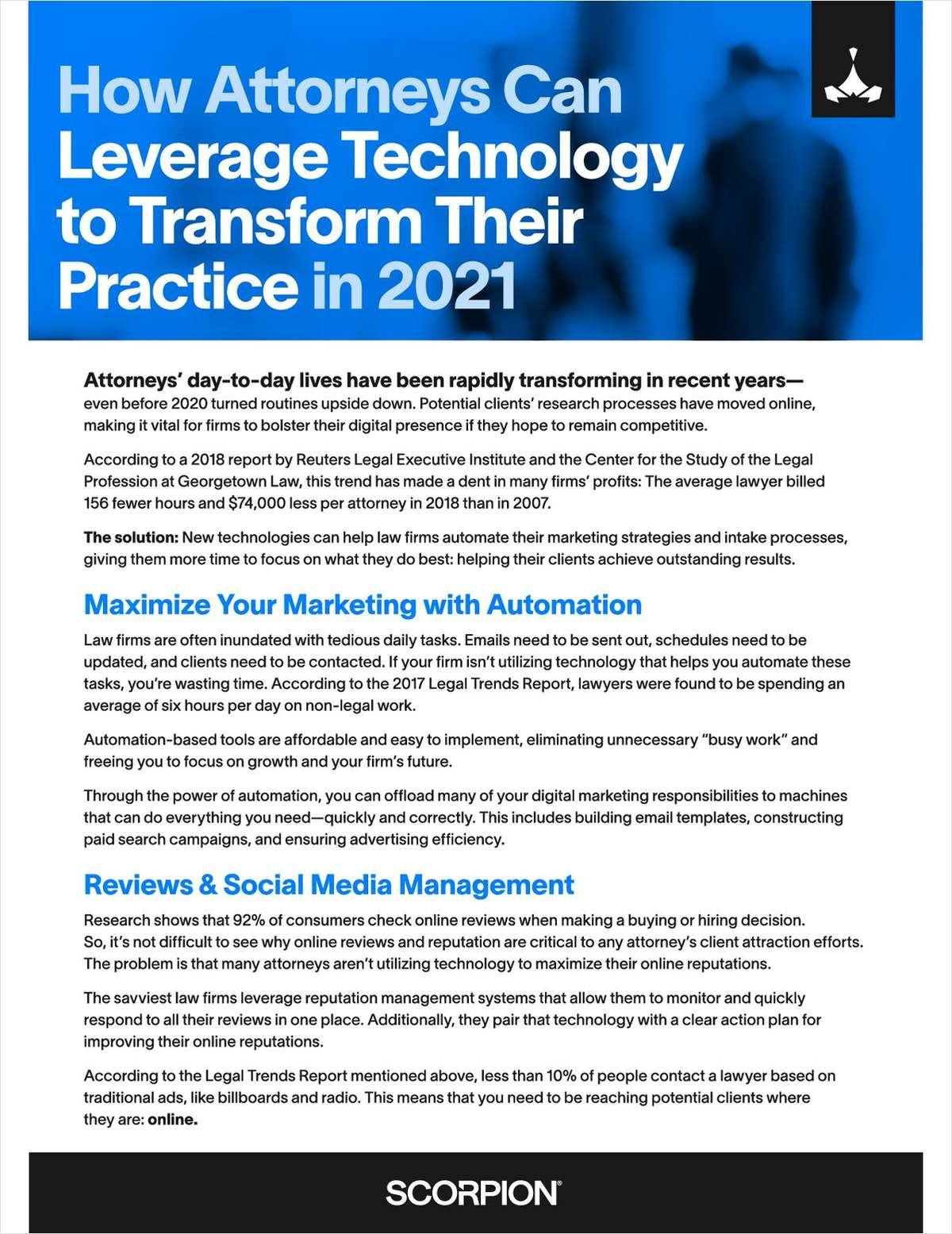 How Attorneys Can Leverage Technology to Transform Their Practice in 2021