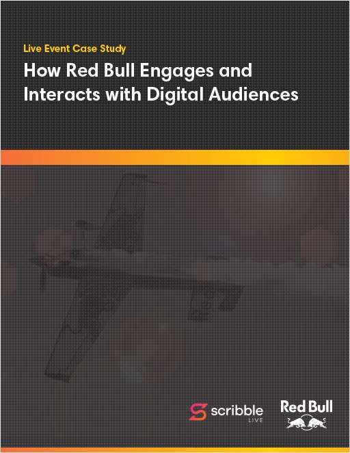 Live Event Case Study: How Red Bull Engages and Interacts with Digital Audiences