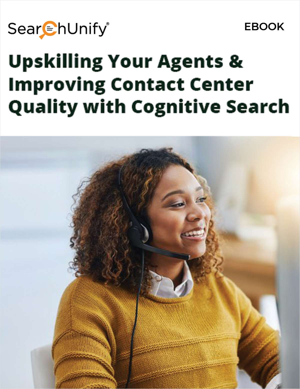 Upskilling Your Agents & Improving Contact Center Quality with Cognitive Search