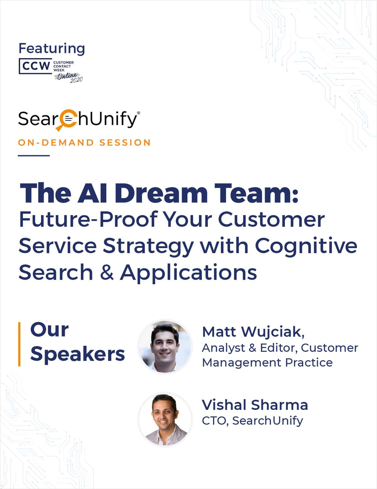The AI Dream Team: Future-Proof Your Customer Service Strategy With Cognitive Search & Applications