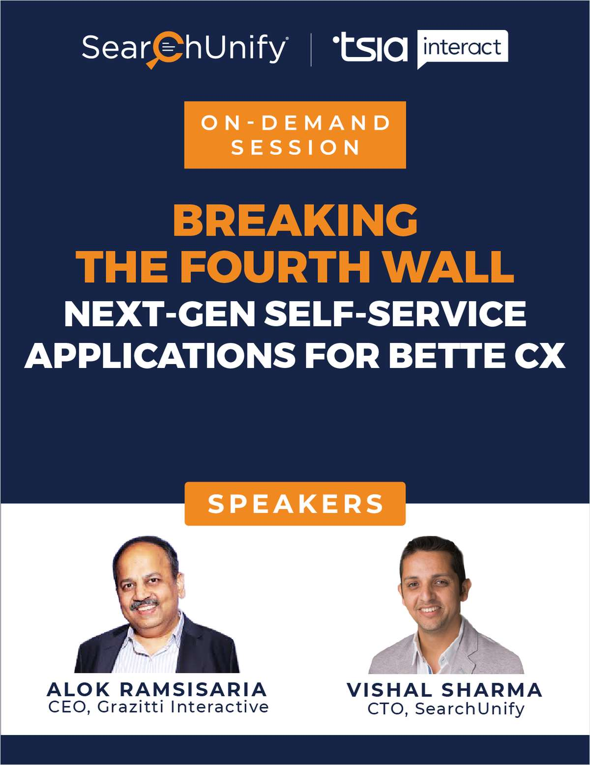 Breaking the Fourth Wall: Next-Gen Self-Service Applications for Better CX