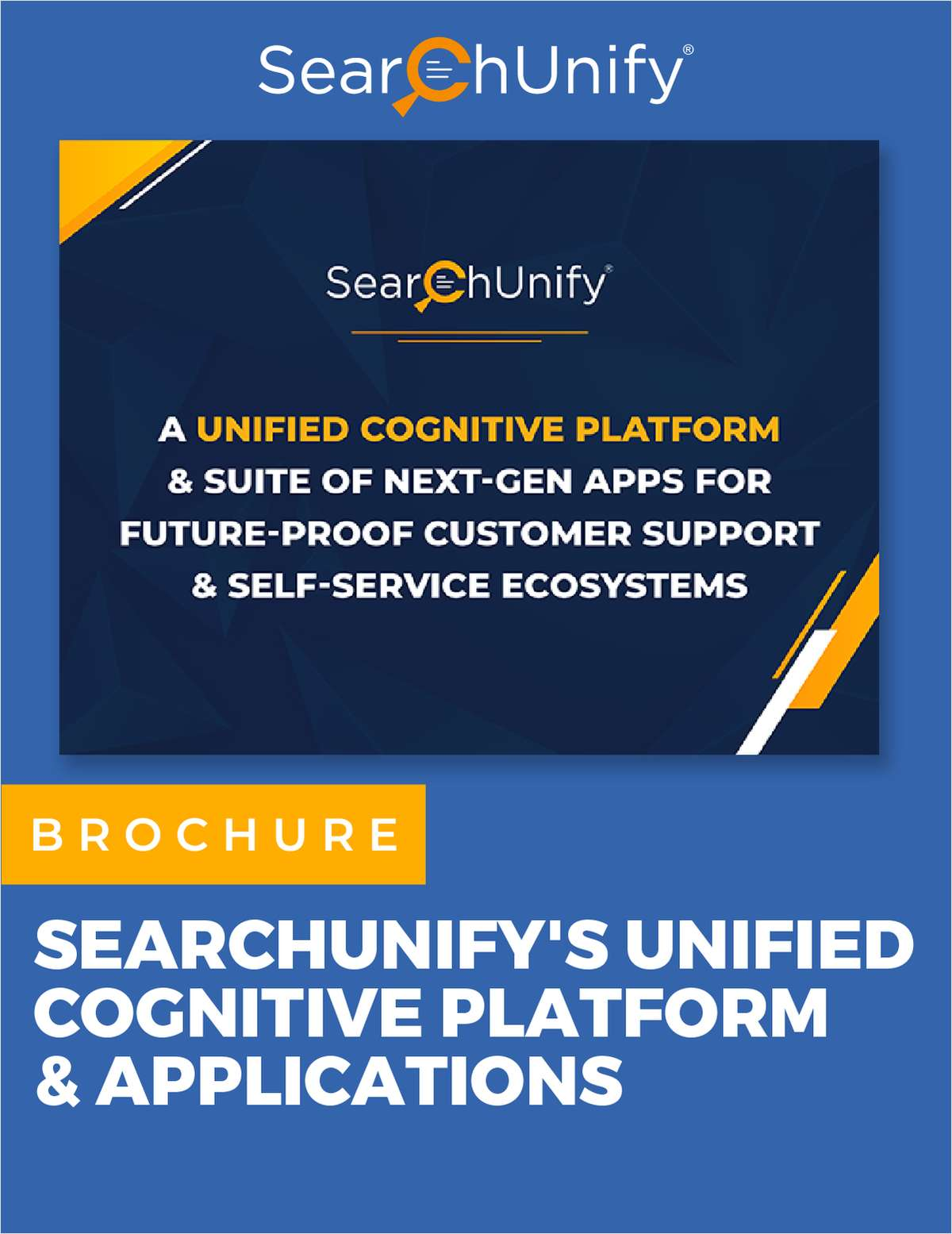 A Unified Cognitive Platform & Suite of Next-Gen Apps for Future-Proof Customer Support & Self-Service Ecosystems