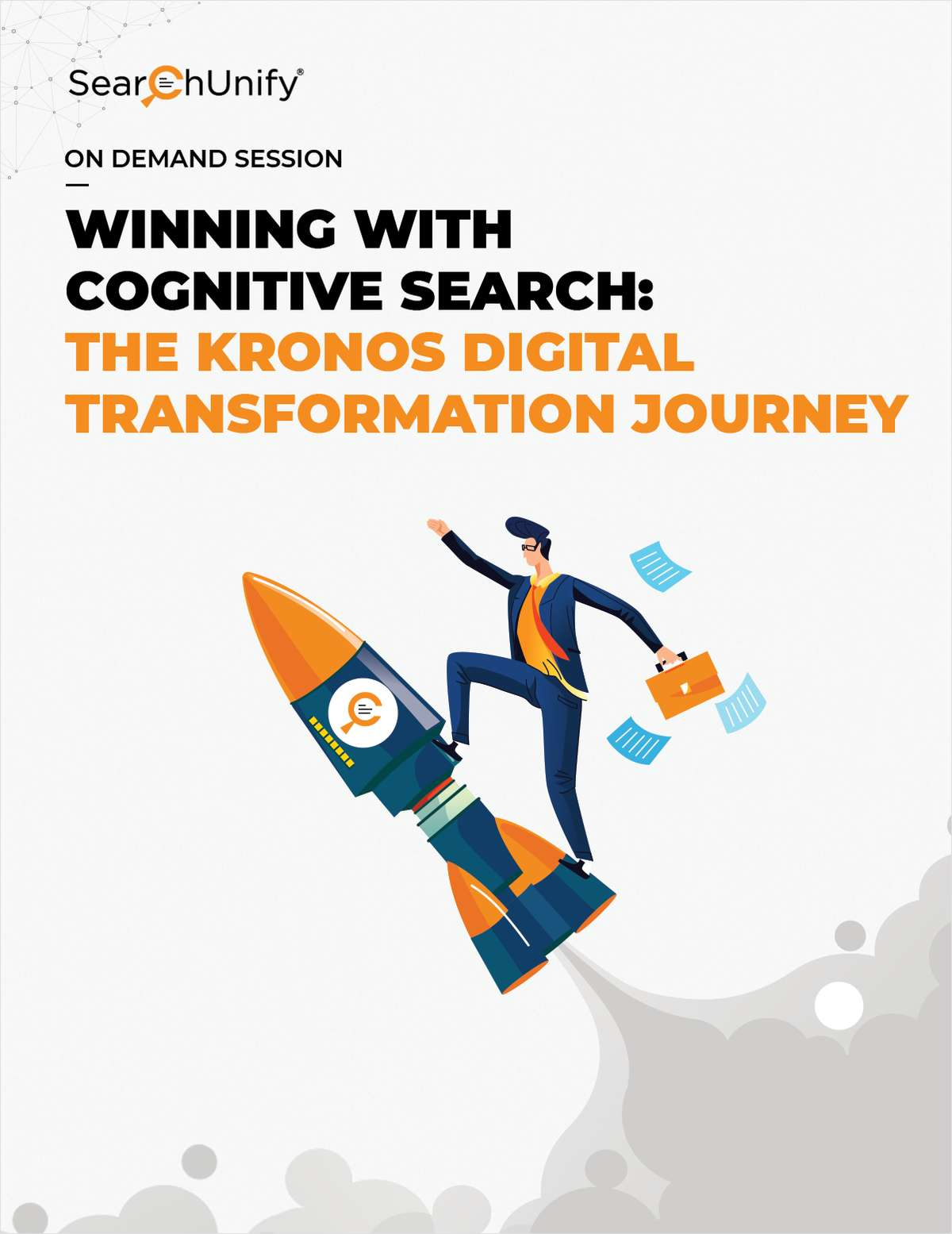 Winning with Cognitive Search: The Kronos Digital Transformation Journey