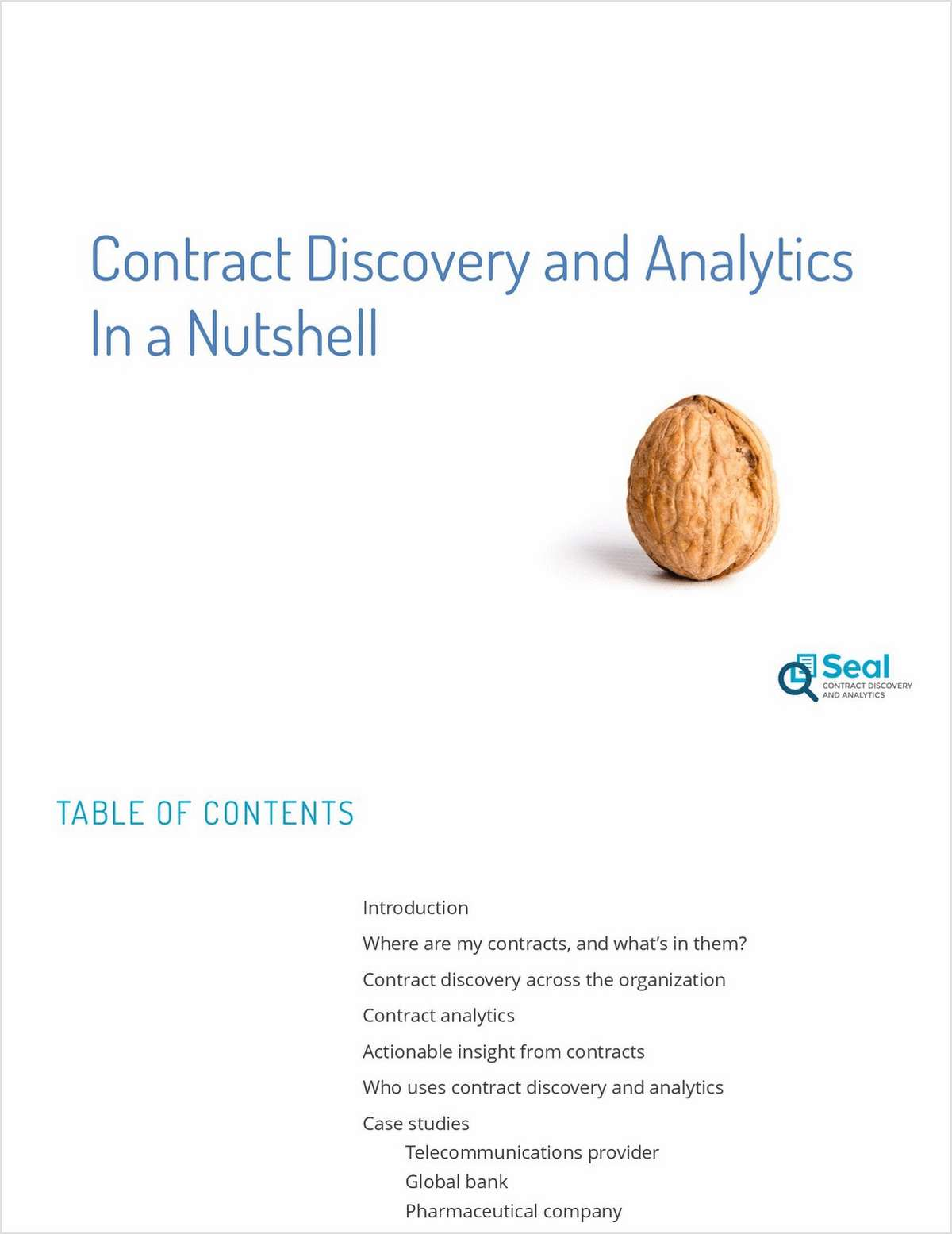 Contract Discovery & Analytics in a Nutshell