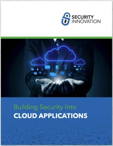 Building Security Into Cloud Applications Whitepaper