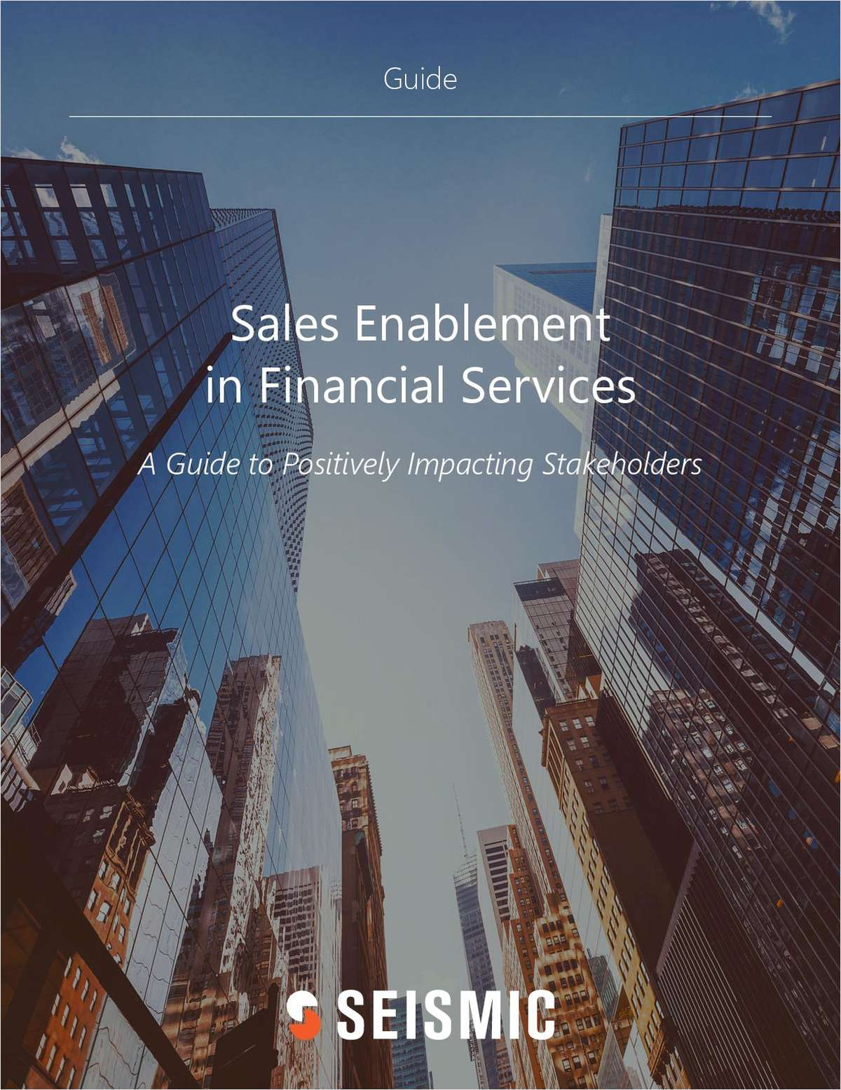 Sales Enablement in Financial Services
