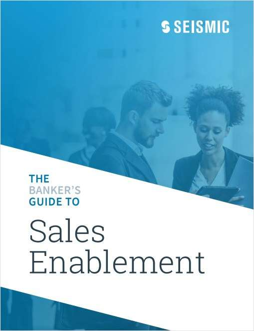 The Banker's Guide to Sales Enablement