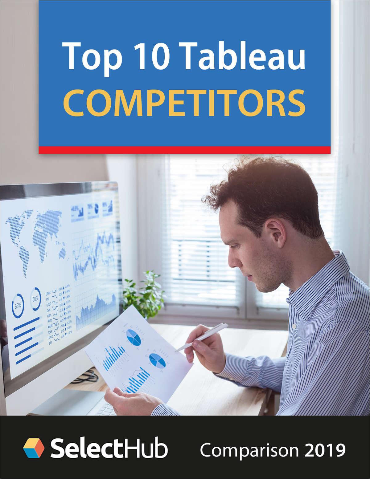 Top 10 Tableau Alternatives--Competitive Report