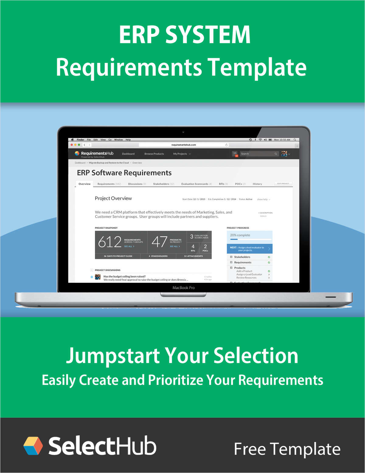 ERP System Requirements Gathering Template