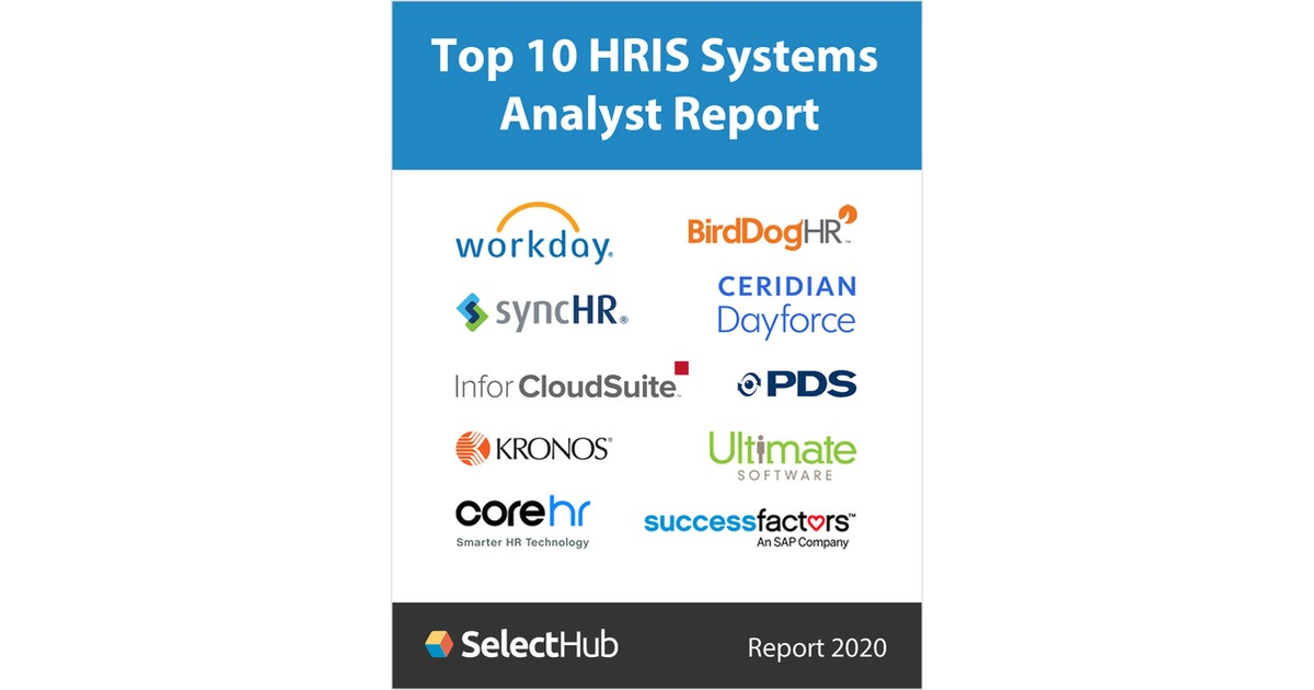 Top 10 HRIS Systems for 2019-- Free Analyst Report Free Report