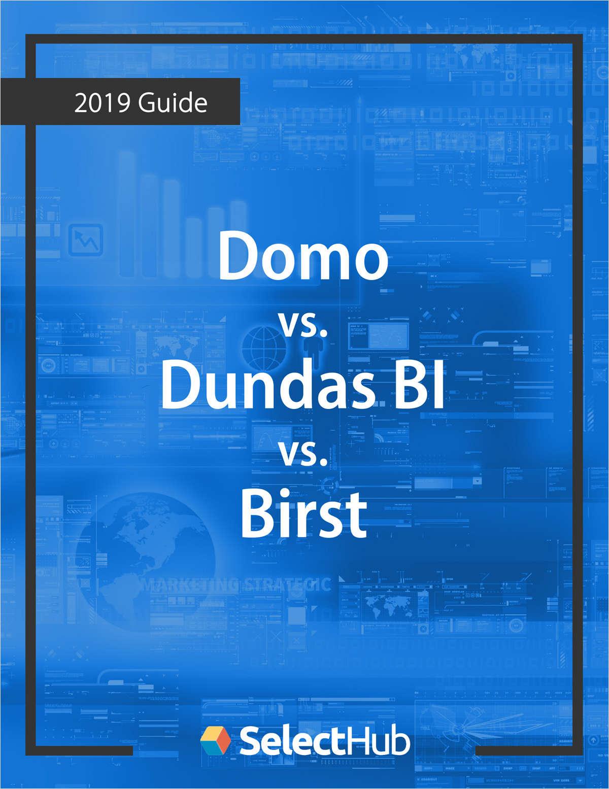 Domo vs. Dundas BI vs. Birst Competitive Report
