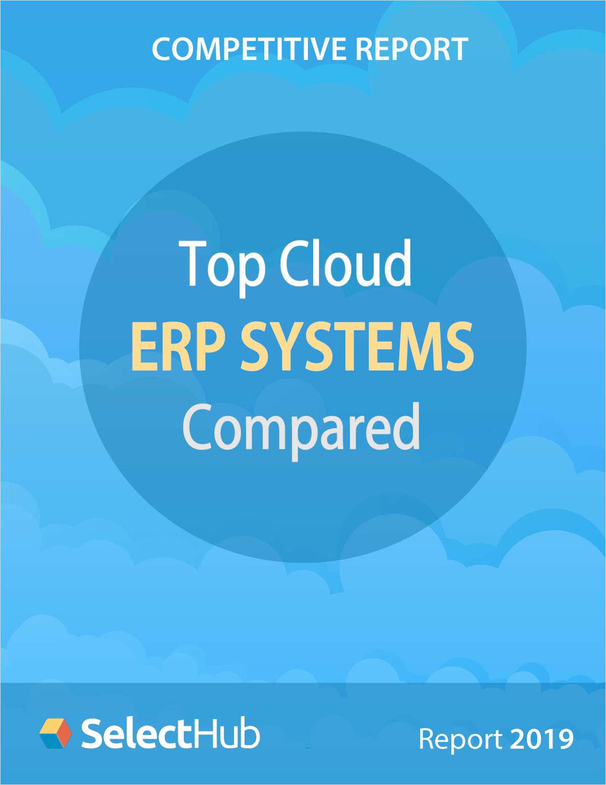 Top Cloud ERP System Comparison for 2019