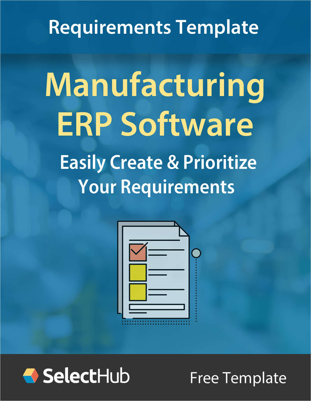 Manufacturing ERP Requirements Gathering Template
