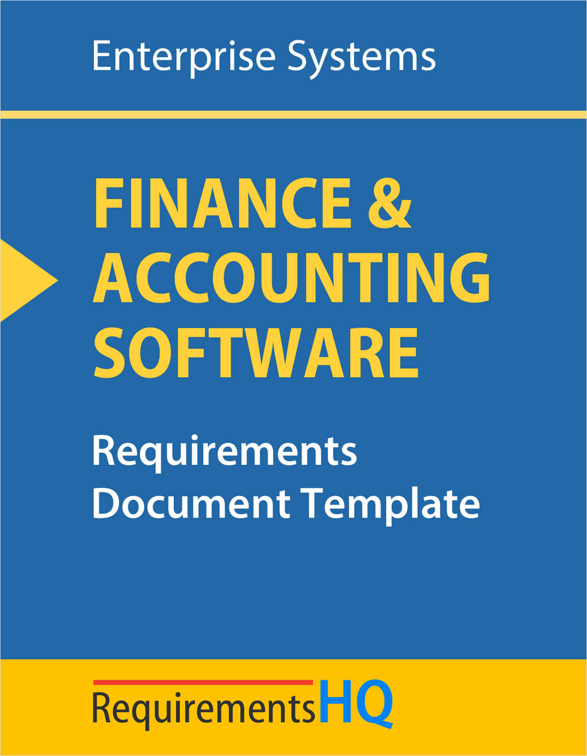 Enterprise Accounting Software Requirements: Template Document