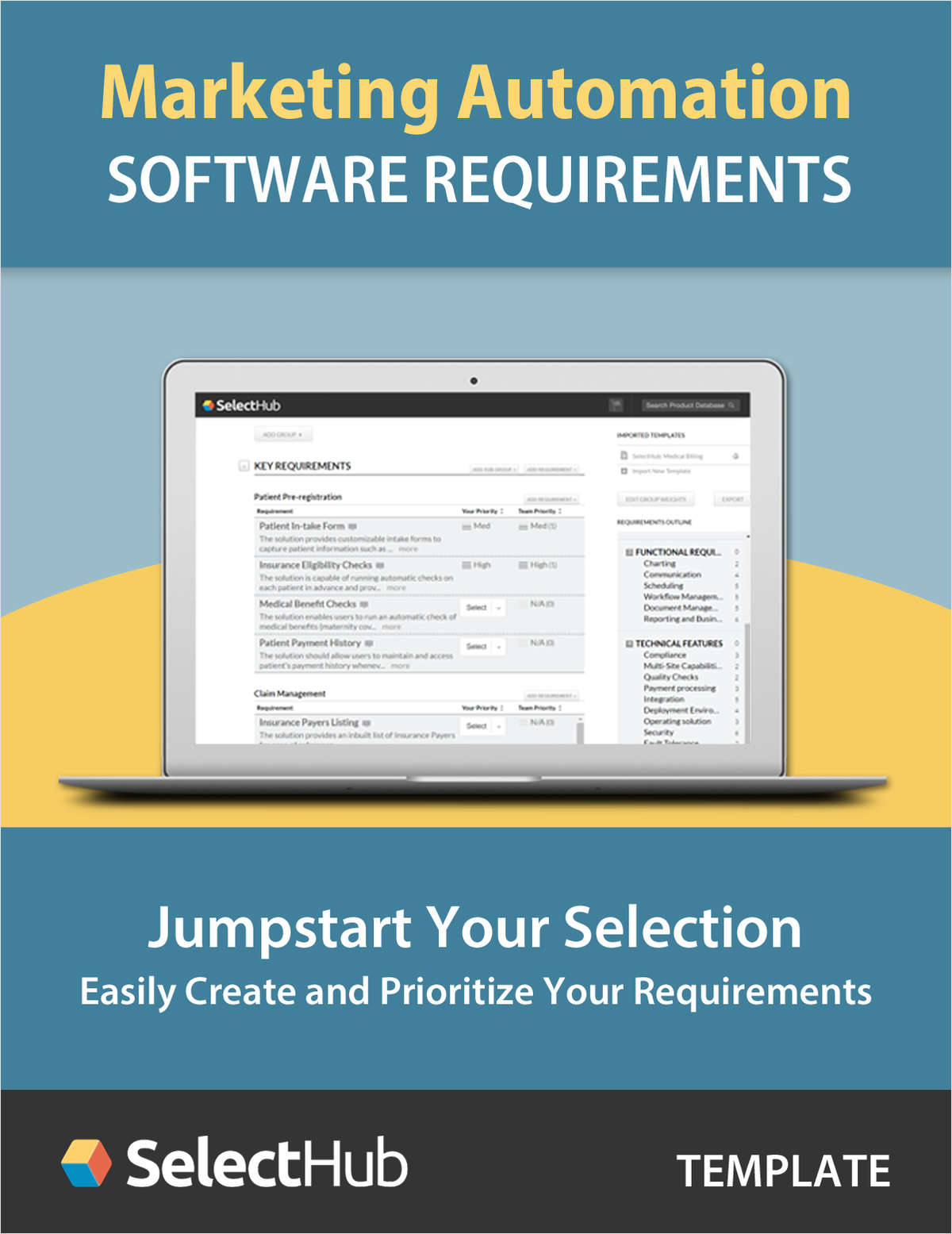 Marketing Automation Software Requirements Gathering Template