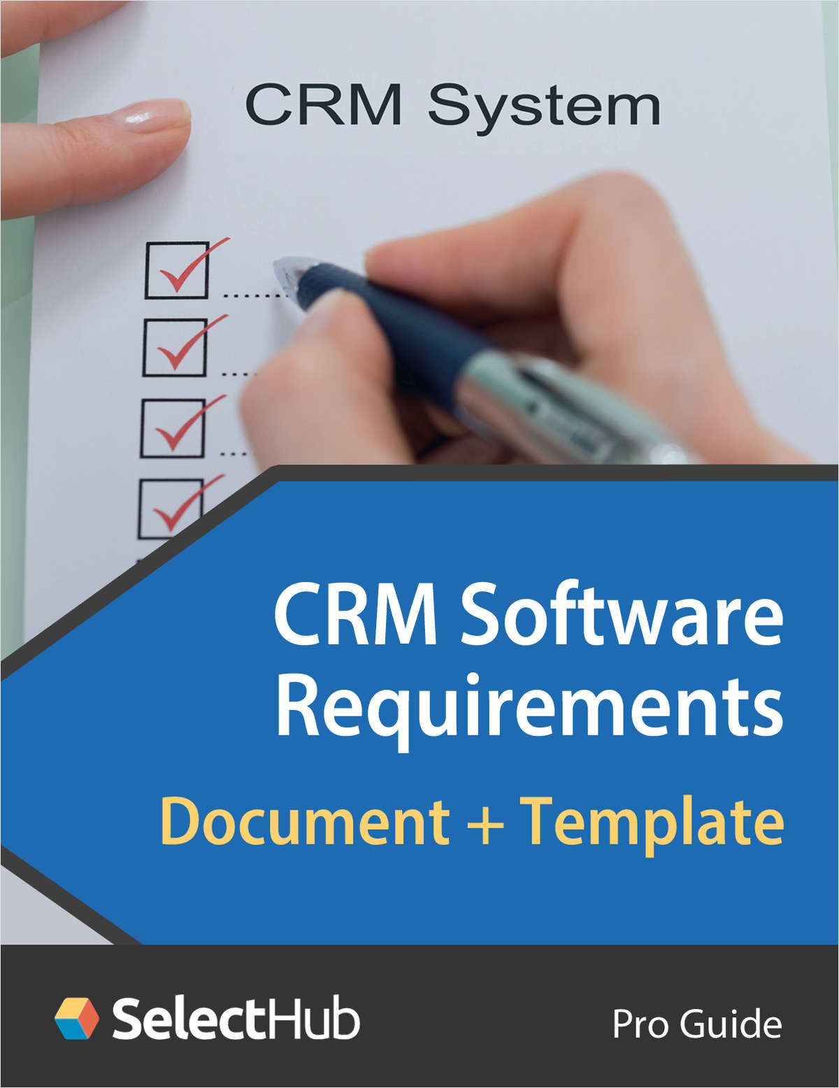 CRM Software Requirements Document & Template