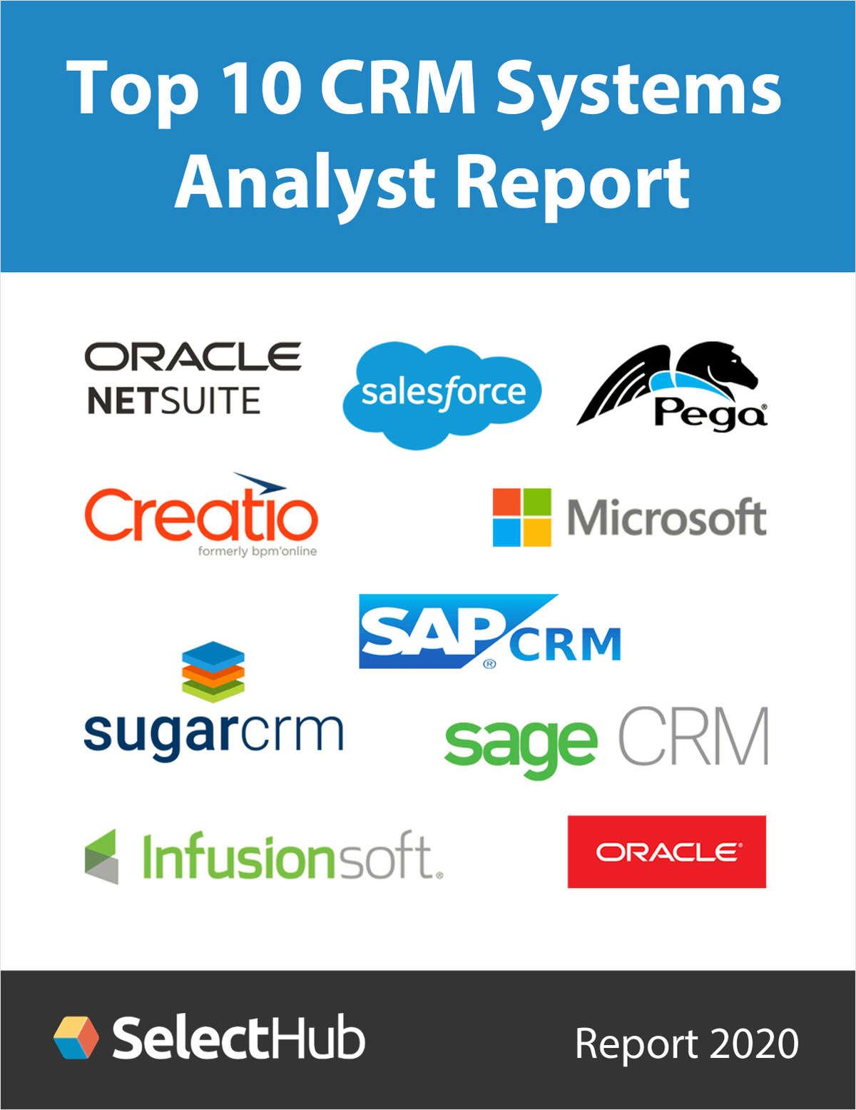 Top 10 CRM Systems for 2020--Free Analyst Report