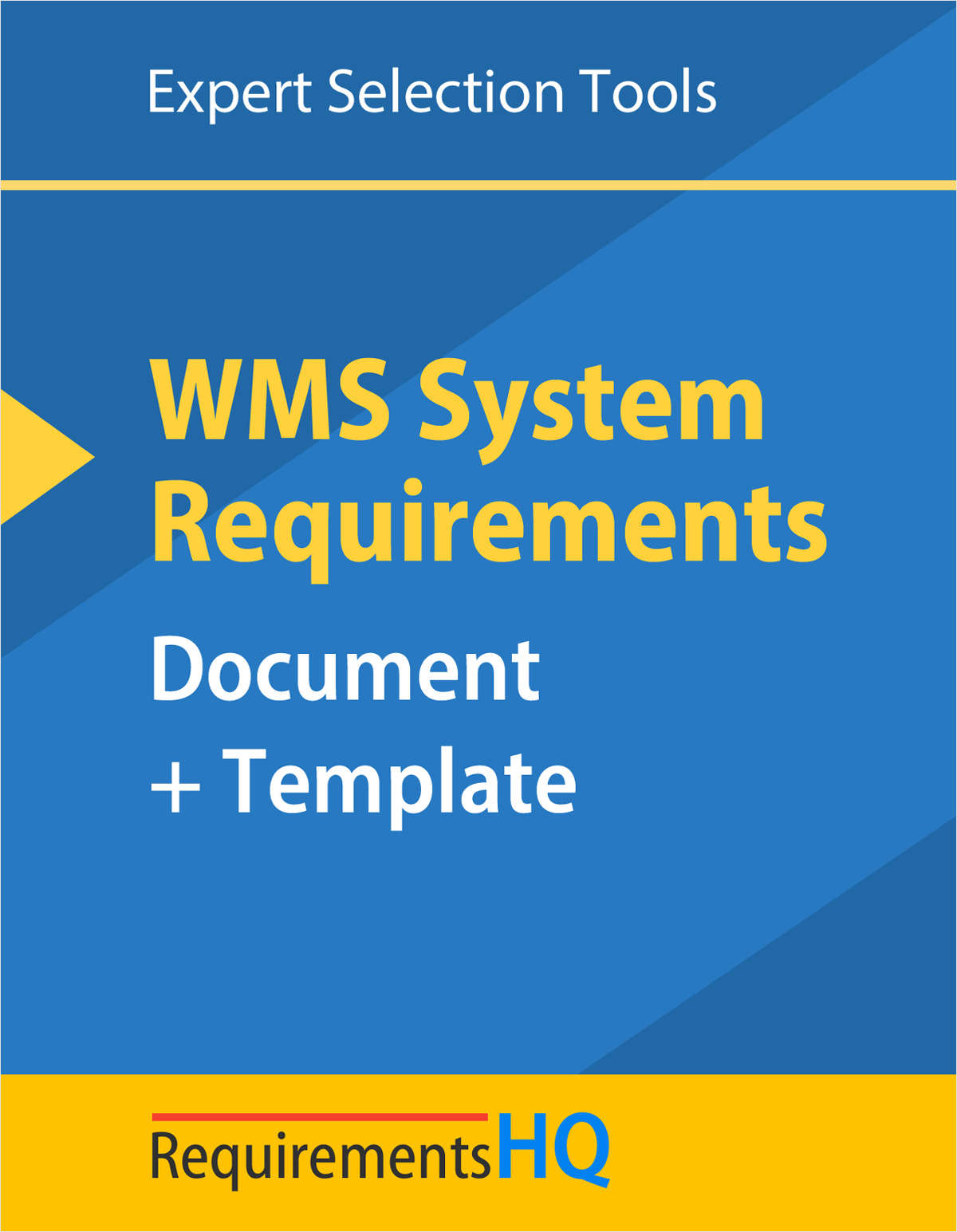 Warehouse Management System Requirements Document & Template