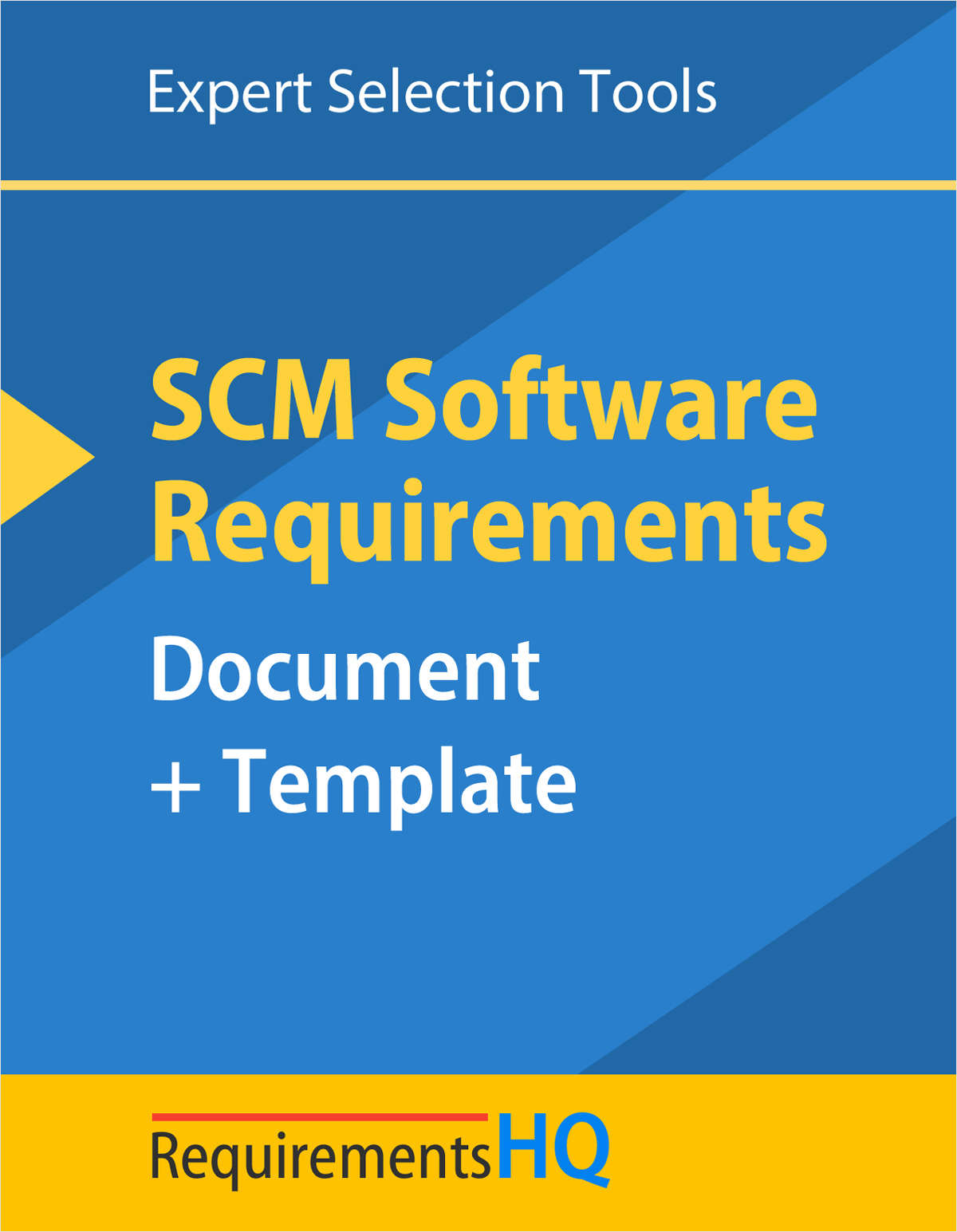 Supply Chain Management Software Requirements Document & Template