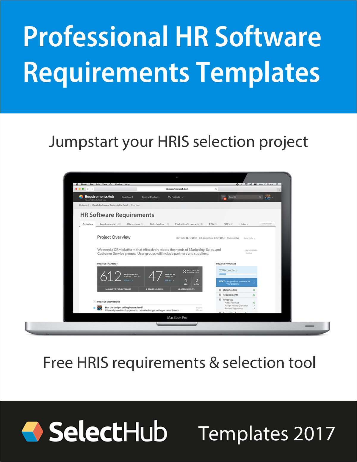Expert HR Software Requirements Template & Free Selection Tool--Get Free Trial