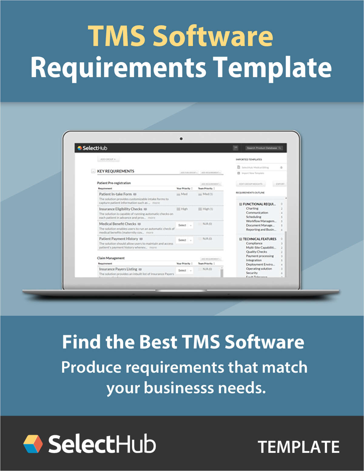 Transportation Management System (TMS) Requirements Template