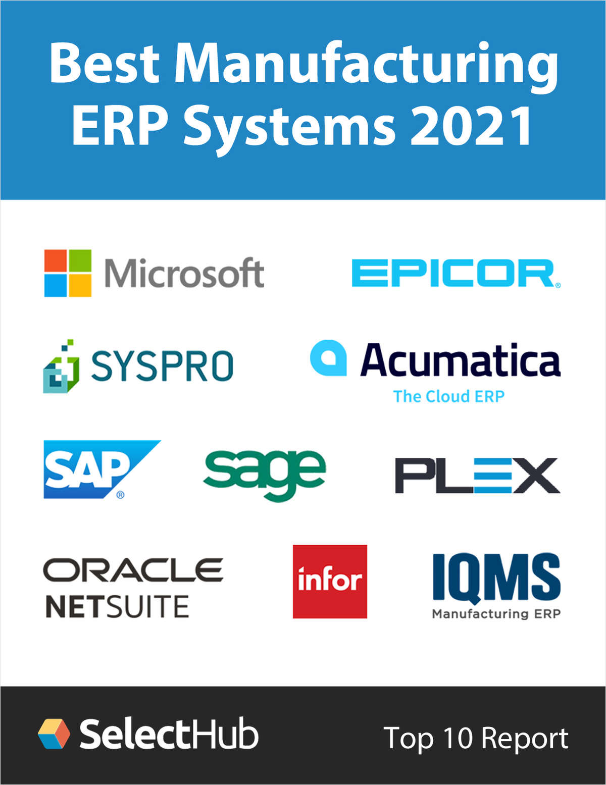 Best Manufacturing ERP Systems for 2021--Top 10 Report