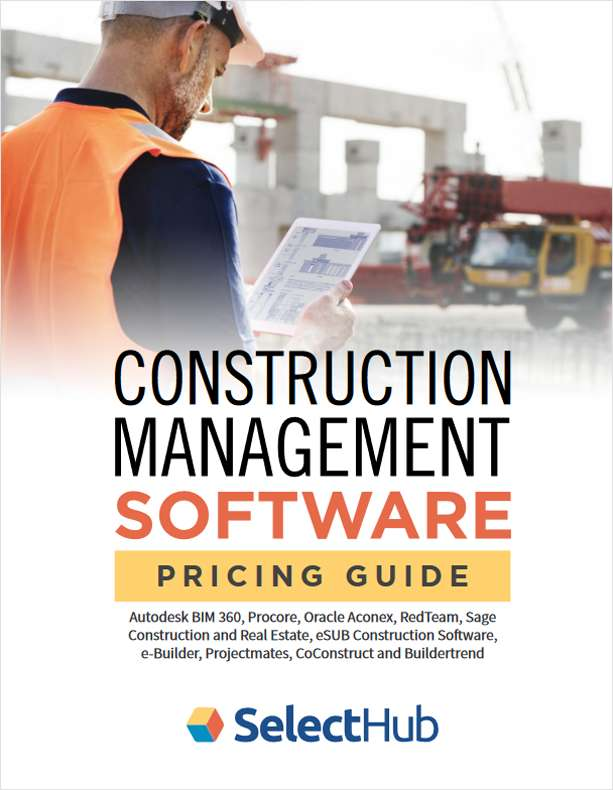 Best Construction Management Software--Top 10 Pricing Guide