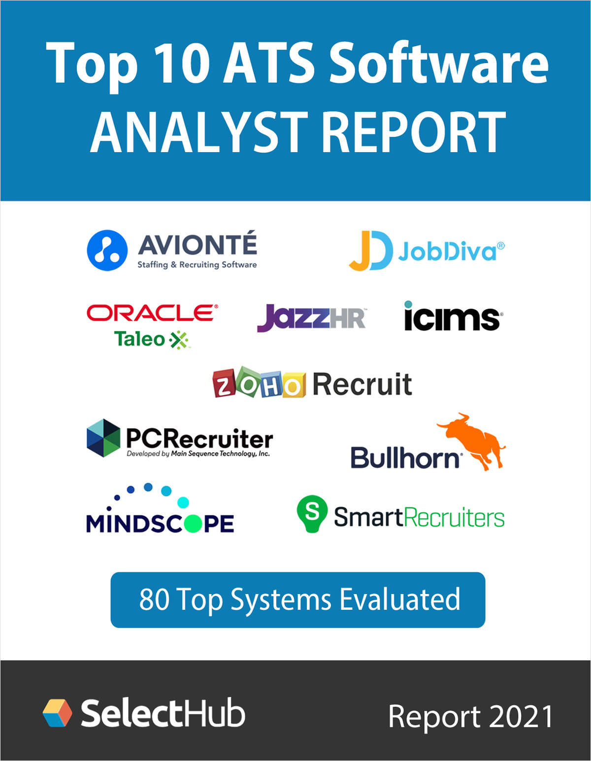 Top 10 Applicant Tracking Systems (ATS) for 2021--Free Analyst Report
