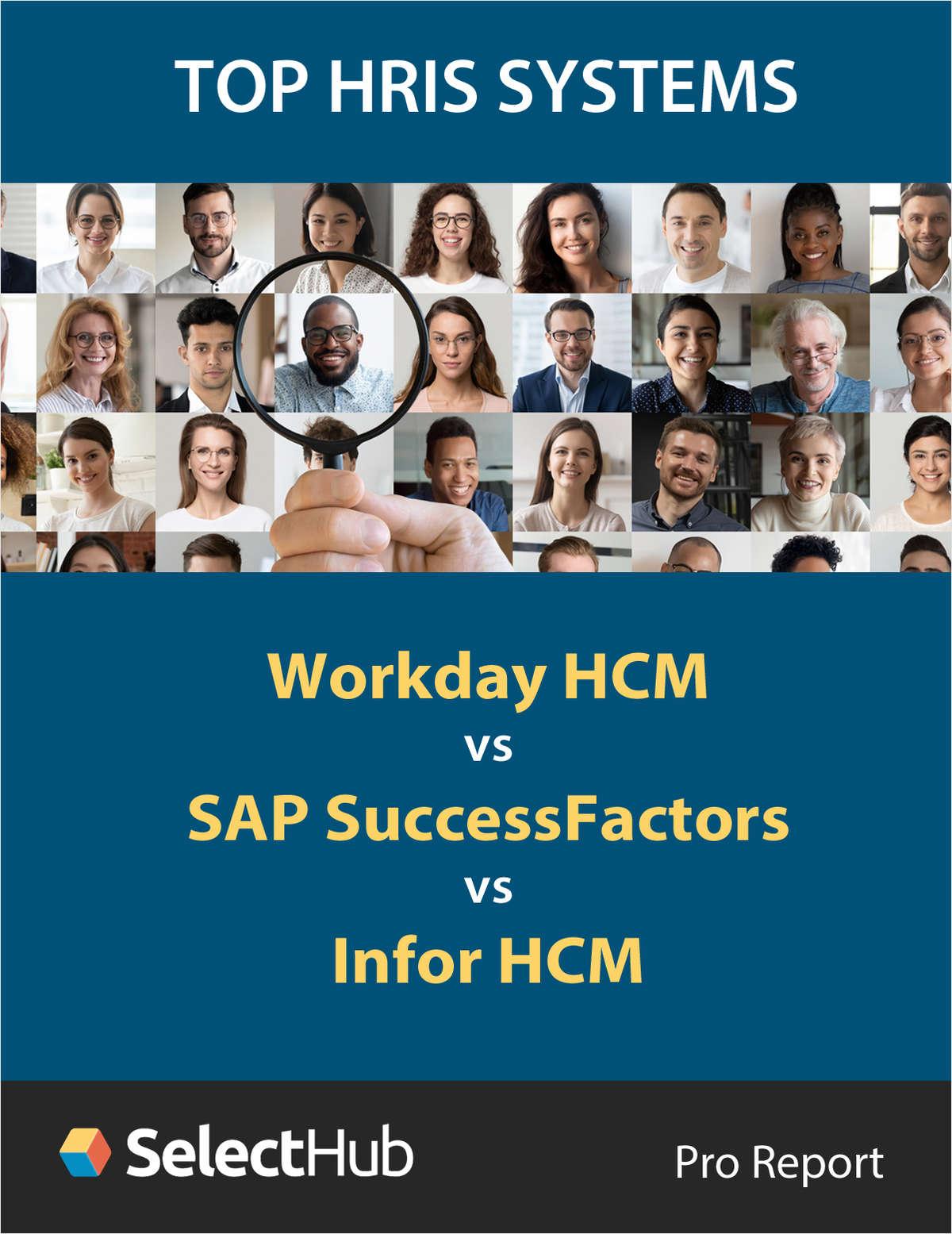 Top HCM Software 2021: Infor HCM vs SAP SuccessFactors vs Workday HCM