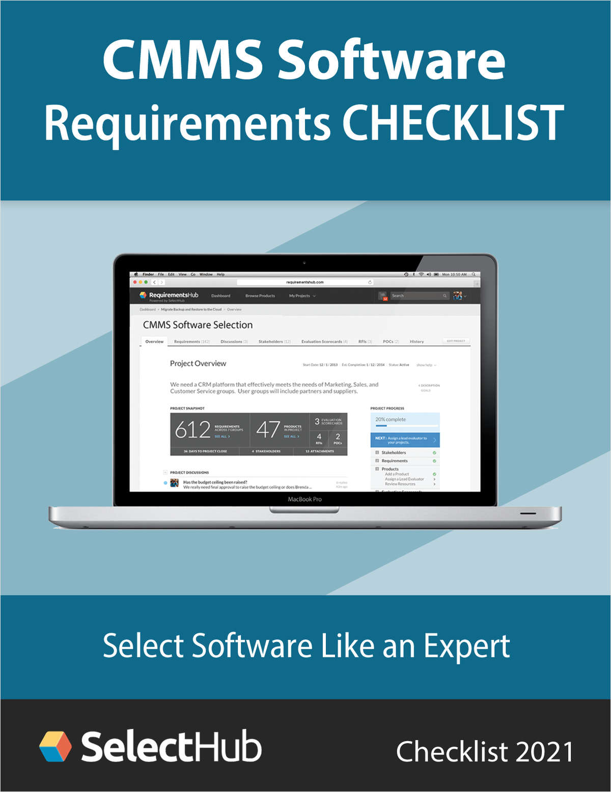 CMMS Software Requirements Checklist for 2021