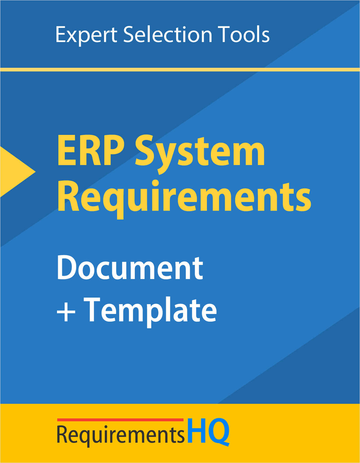 ERP System Requirements Document & Template--Updated